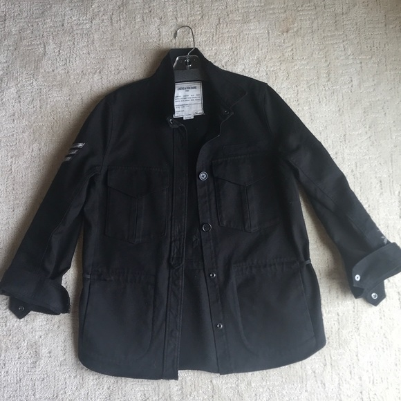 Zadig & Voltaire Jackets & Blazers - Zadig & Voltaire Black Jean Jacket